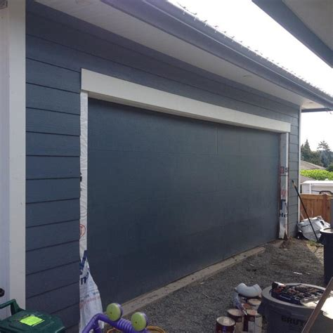 18 Foot Insulated Garage Door Central Nanaimo Nanaimo 18 Foot Garage Door