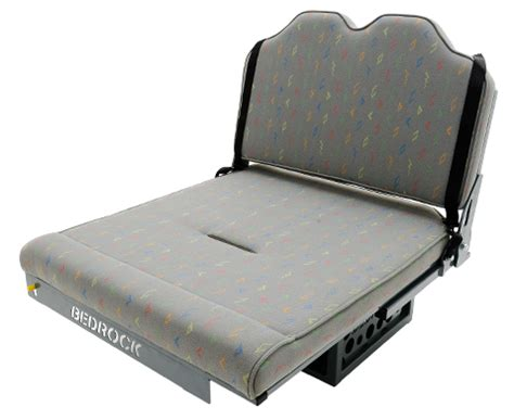 reclinable bed bedrock reclining van beds by vamoose