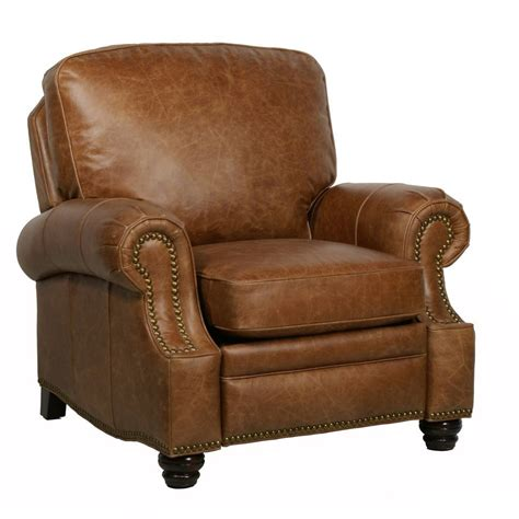 Best Leather Recliners by Barcalounger Longhorn Ii Leather Recliner Chair Leather