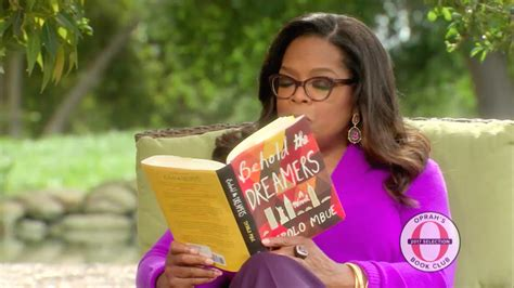 oprah winfrey favorite books oprah reads from behold the dreamers by imbolo mbue