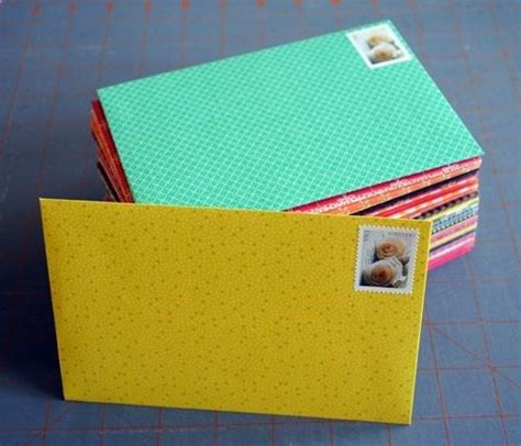 How To Make Your Own Scrapbook Paper - scrapbook paper envelope so paper and make your own