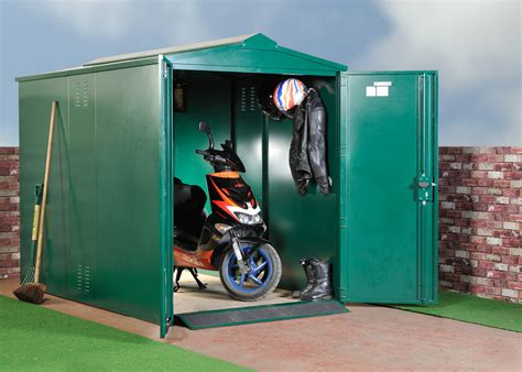 scooters garage scooter and moped storage from asgard