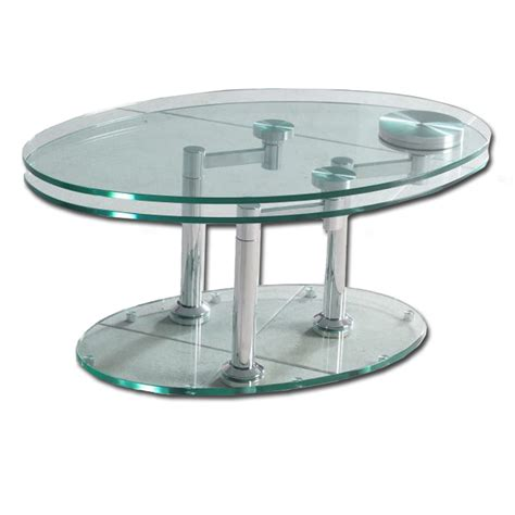 swivel oval glass coffee table glass base buy glass