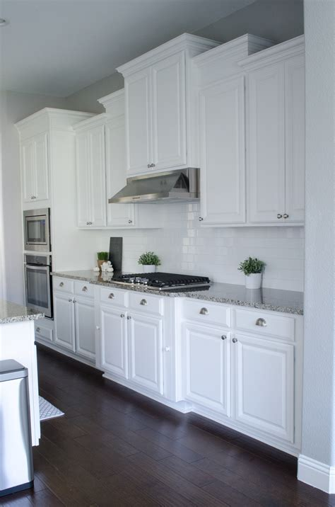 white cabinets white countertop white kitchen cabinets kitchen love pinterest
