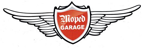 Moped Aufkleber by Moped Garage Net Moped Garage Logo Aufkleber Gro 223