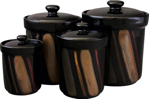 Black Kitchen Canisters Sets Black Kitchen Canisters Sets 28 Images Gibson