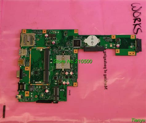Mainboard Laptop Asus A455l for asus x553ma 60nb04x0 mb1700 rev 2 0 laptop motherboard fully tested all functions work