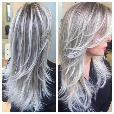 diy lowlights to color grays 95 best hair images on pinterest hairstyle ideas blonde