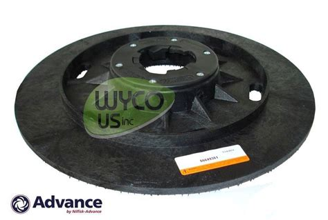 Pad Holder For Floor Buffer by Oem Pad Holder 20 Np92 Clutch Advance Pacesetter 200