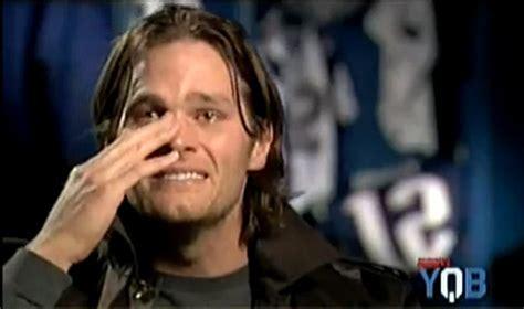 Brady Crying Meme - tom brady crying after loss the tom brady crying video