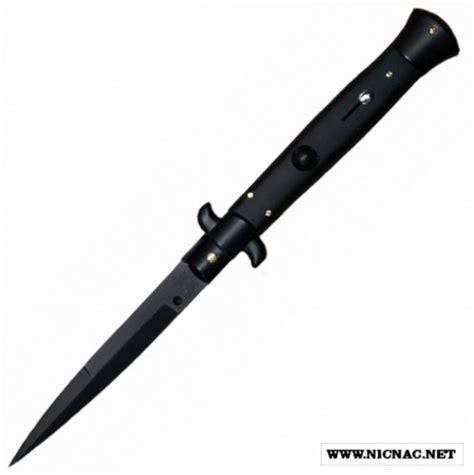 italian tactical knives italian switchblade knife for sale 9 inch all black tact