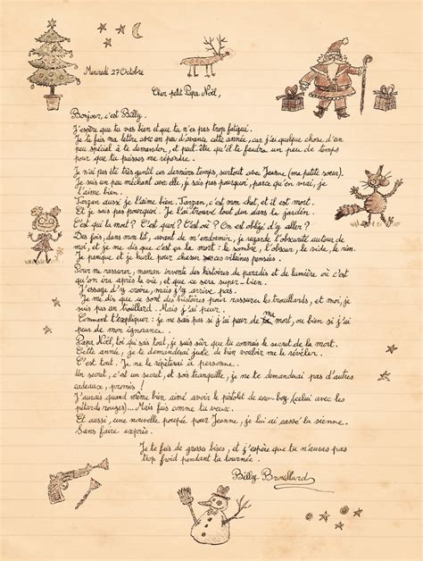 Exemple De Lettre Ecrite Au Pere Noel 2008 D 233 Cembre La Soupe De L Espace