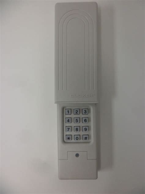 How To Reset Garage Door Keypad by Chamberlain Klik2u Universal Wireless Keyless Entry Garage Door Opener Keypad Ebay