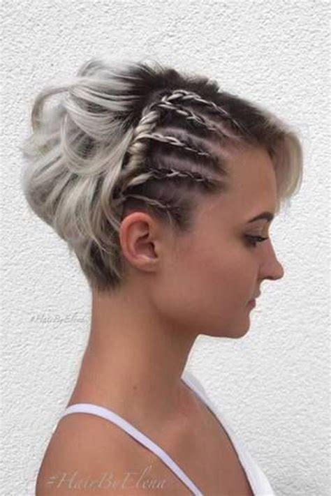 peinados de pelo corto para fiestas los mejores peinados con trenzas para pelo corto oto 241 o