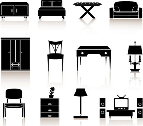 icon design upholstery furniture free vector download 277 free vector for