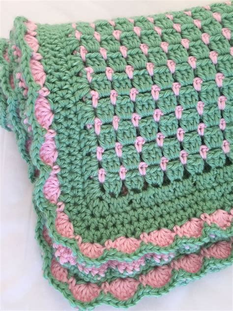 pattern of crochet crochet baby blanket pattern that has endless color
