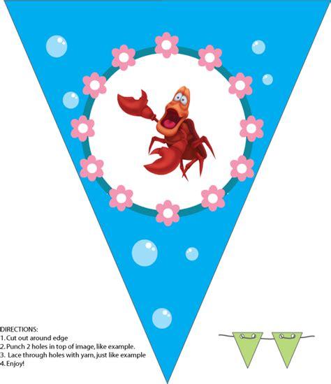 free printable mermaid crown little mermaid 413640 png