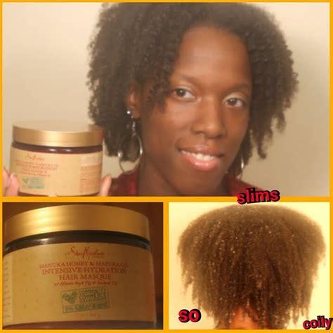 hydration hair mask new shea moisture manuka honey mafura intensive