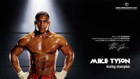 Mike Tyson To Be A by Mike Tyson Wallpaper 1920x1080 63986