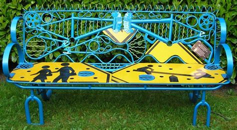 benches made from recycled materials these fantastically creative school benches will make you