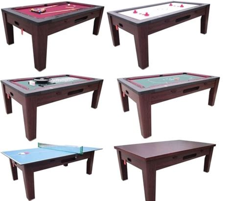 pool kitchen table combo 6 in 1 combo table pool air hockey ping pong