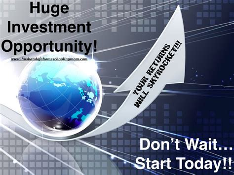 best investment opportunities investment opportunity of a lifetime