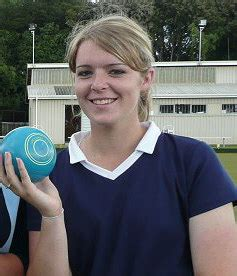 Mandy Pairs Up With Coach by Bowls Taradale