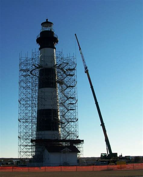 bodie island lighthouse   facelift outer banks