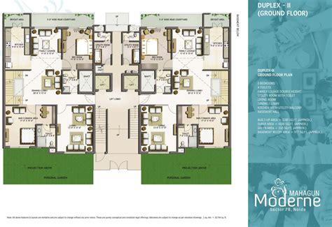 3 Bedroom Apartments Floor Plans Floor Plans Mahagun Moderne Sector 78 Noida Mahagun