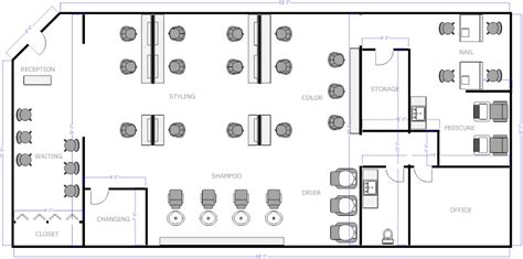 nail salon floor plan salon floor plan 2 business decor pinterest salons