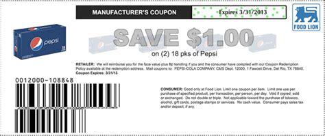 printable food lion coupons food lion 1 off pepsi printable coupon