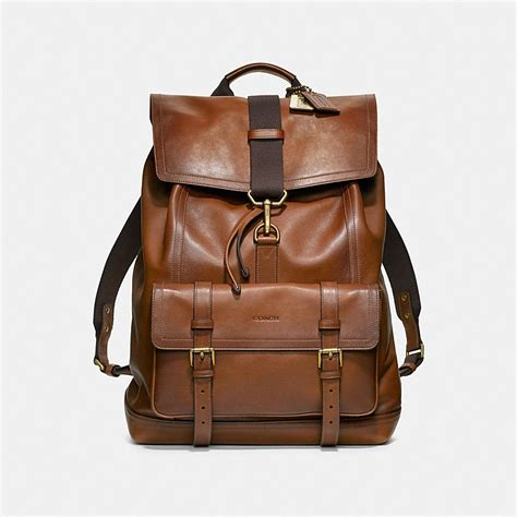Coach Backpack 6851 1 coach bleecker backpack in leather