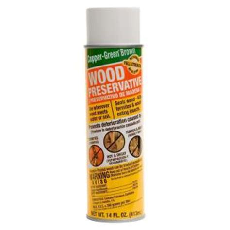 copper green brown 14 oz green wood preservative spray cb