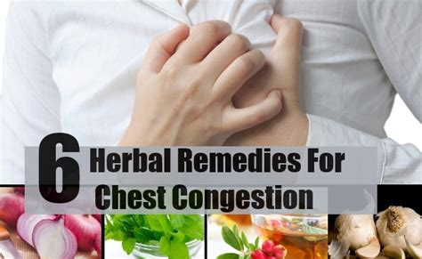 6 effective herbal remedies for chest congestion how to
