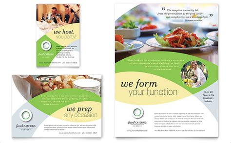 catering flyers 23 free psd ai vector eps format