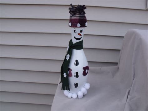 bowling pin craft projects snowman bowling pin my own crafts by ellie