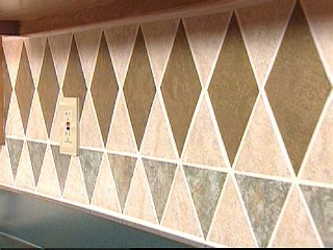 install a tile wallpaper backsplash hgtv