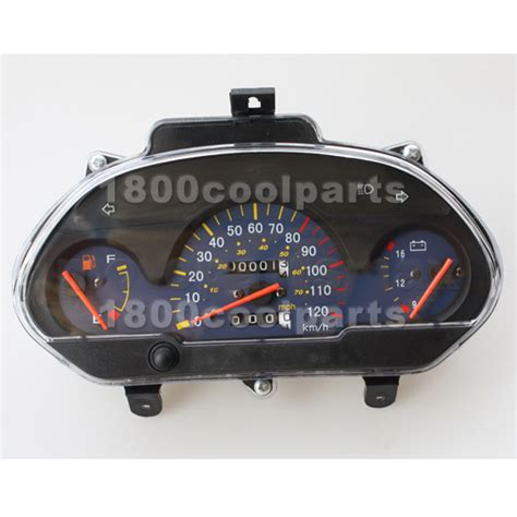 Speedometer Assy Verza Original Ahm speedometer assembly for gy6 150cc 250cc scooter moped ebay