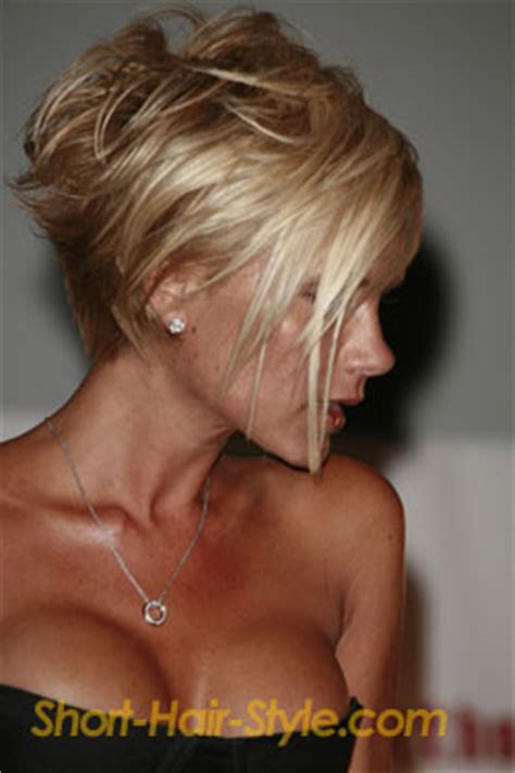 victoria beckham short hairstyles back and front lady nape victoria beckham posh spice has the best bob