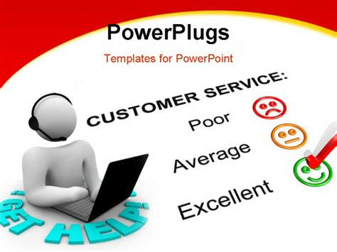 customer service powerpoint templates service communication customer service communication ppt