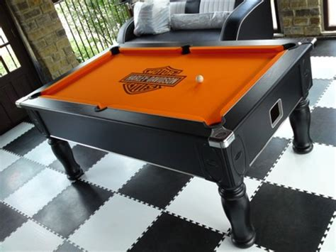 Harley Davidson Pool Table by Branded And Printedl Pool Table And Logo Cloth Uk
