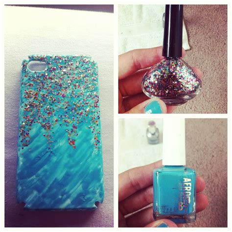How To Decorate Phone by Diy Nail Phone Just Take A Plain White
