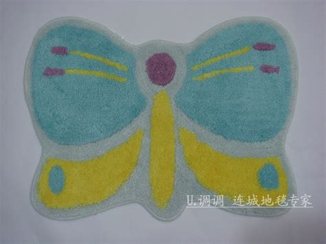 Butterfly Bathroom Rug Lovely Blue Butterfly Bath Mats Rugs L2204 Ebay