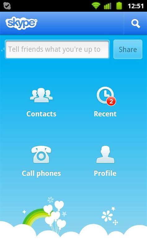skype for android new skype for android two way calling both android tablet and phone support