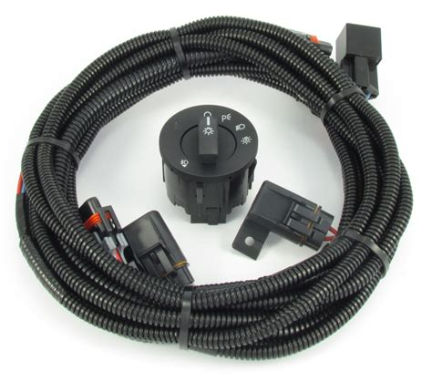 Fog Light Wiring Kit by Mustang Fog Light Wiring Switch Kit Fits V6 And