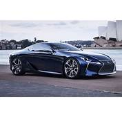 Lexus Exec Hints LF LC Concept Is Production Bound