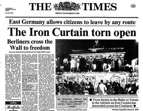 berlin wall newspaper fotw25 news breaking headlines and top stories