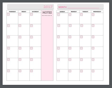 printable weekly planner pages 2017 free printable planner pages the make your own zone