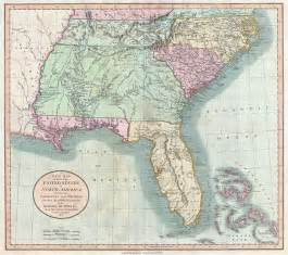 map of south carolina and florida file 1806 cary map of florida carolina