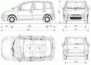 Fiat 600 Dimensions Le Fiat Multipla N H 233 Sitez Plus Pr 233 Sentation